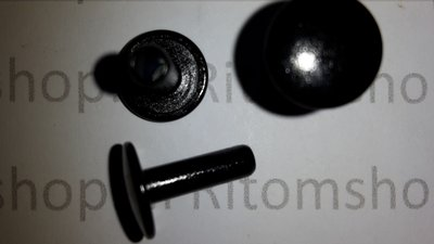 Holniet 6.4 lang kop Ø 7 mm Nikkel / Zilver