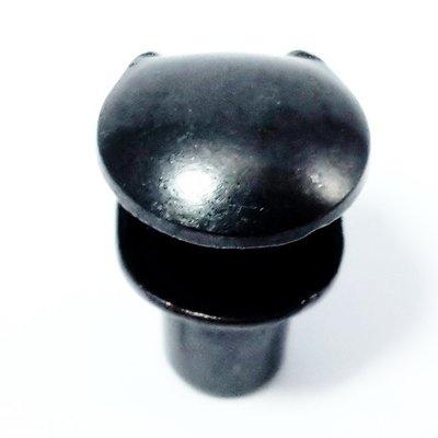 veterhaak groot antraciet/ zwart 100