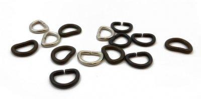 D-Ringen 12 mm per 100 stuks