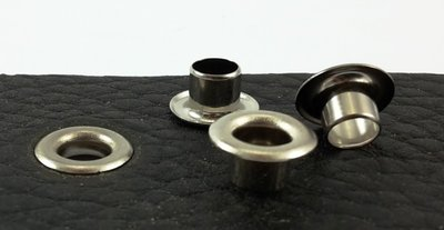 Zeilringen zilverkleurig gat Ø 9.5 mm vanaf 100 stuks