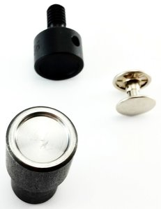 Stempel Dubbele holniet 2 X Bolle Kop Ø 11 mm