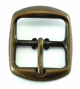 Gesp 25 mm Bruin 10 stuks